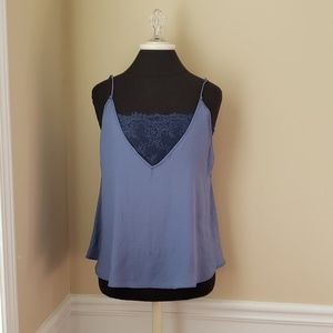 Intematley Free people cami with lace built in XS